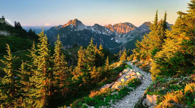 Pacific Crest Trail near Snoqualmie Pass