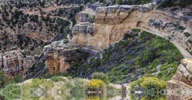 Bright Angel Trail in Grand Canyon National Park, Arizona
