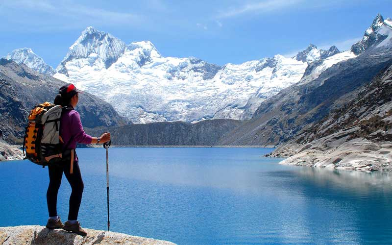 Cordillera Blanca Mountain Range - The Andes - Peru