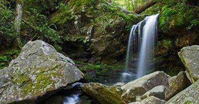 Hiking Trails in Gatlinburg TN with Waterfalls