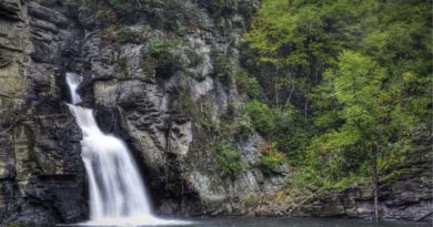 North Carolina Hiking Trails with Waterfalls