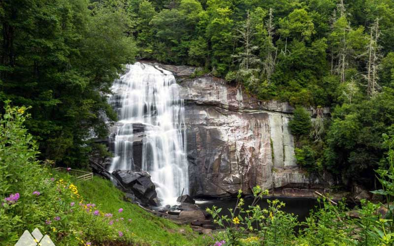 Rainbow Falls - North Carolina