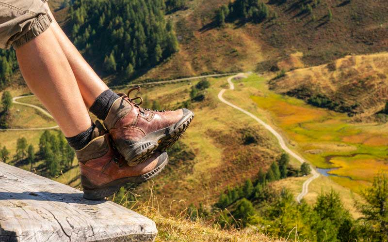 Hiking Boots provide good Ankle Support