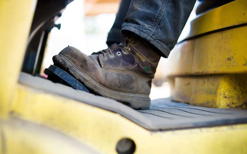 Work Boots are not super Flexible