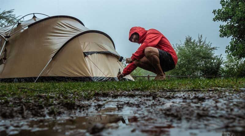 Keep your Tent Dry in the Rain